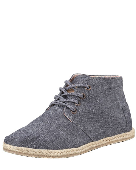 Bristole Lace-Up Desert Bootie