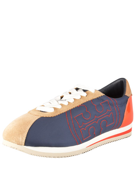 Shaun Nylon-Leather Sneaker