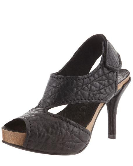 Luna Mid-Heel Slingback Sandal