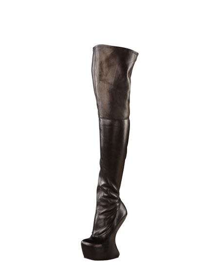 Over-the-Knee No-Heel Boot