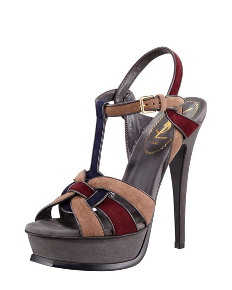 Kidskin Tribute Sandal, Multicolor