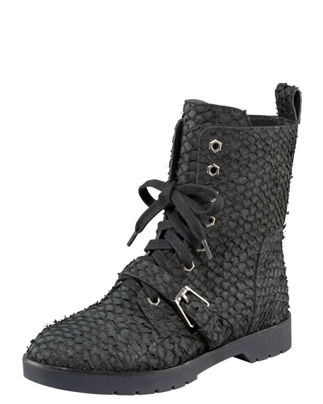 Daria Parrot Combat Boots