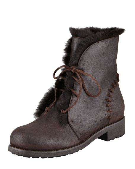 Dekel Rabbit-Lined Boot