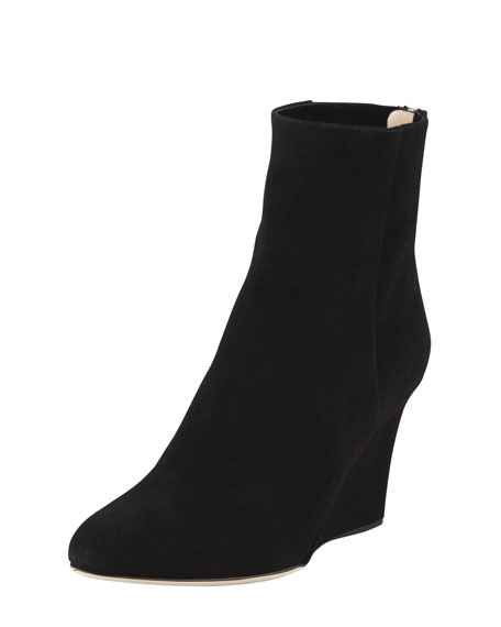 Mayor Suede Wedge Boot