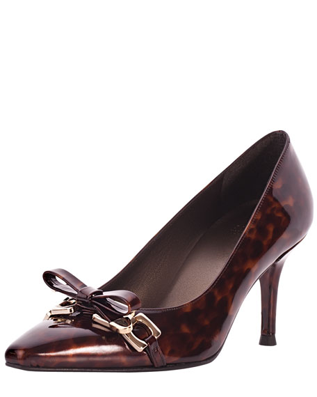 Bowsie Patent Leather Pump