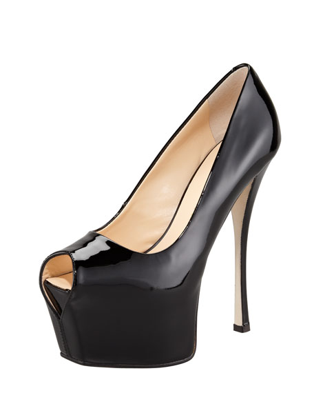 Patent Exaggerated-Platform Pump