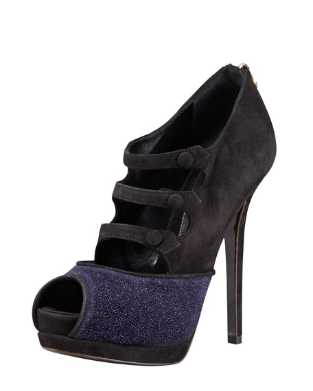 Victorian Galaxy Suede Mary Jane