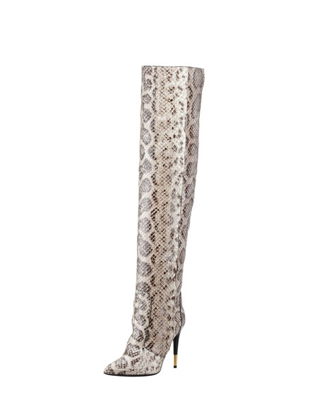 Over-the-knee Anaconda Boot