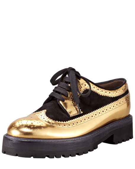 Metallic Platform Oxford