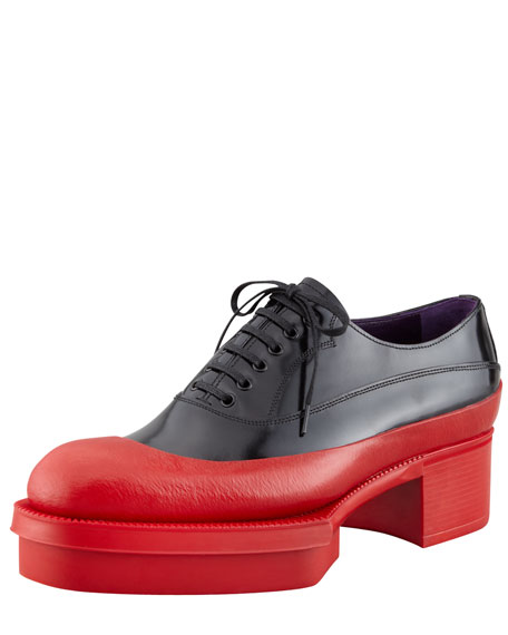 Rubber Bottom Oxford