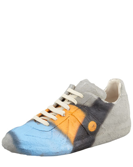 Cement Graffiti Sneaker