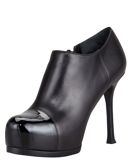 Tribtoo Cap-Toe Ankle Boot