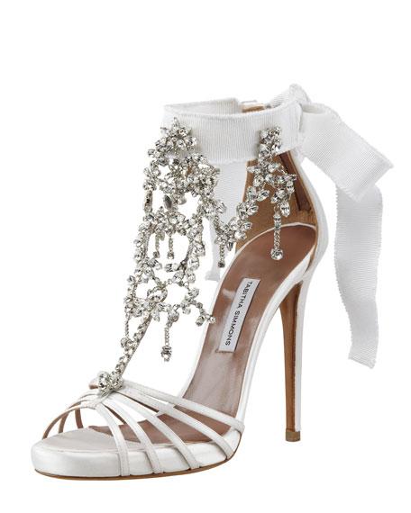 55661f3c06f874 Tabitha Simmons Chandelier Crystal Sandal