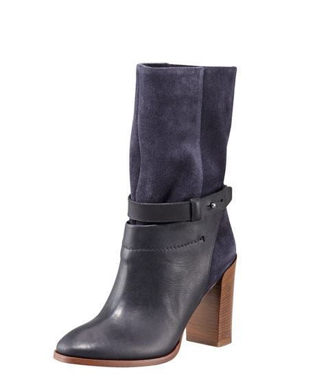 Gwen Suede Short Ankle Boot