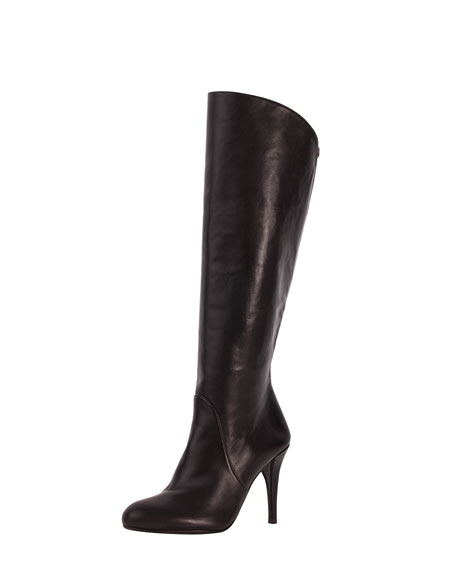 Park Stretch-Inset Napa Leather Knee Boot