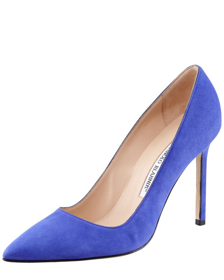 BB Suede Pump