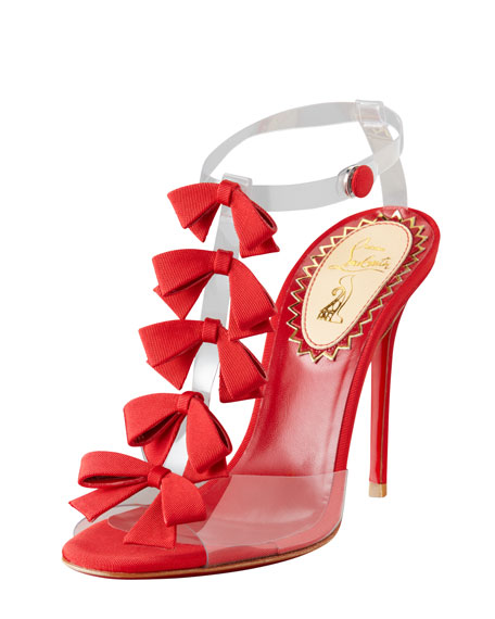Bow Bow Red Sole Sandal