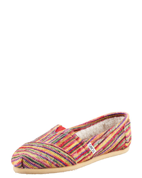 Fleece-Lined Slip-On