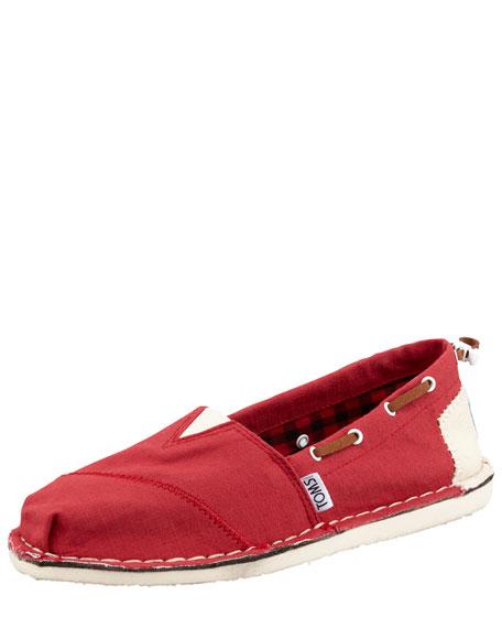 Bimini Boat Shoe, Red