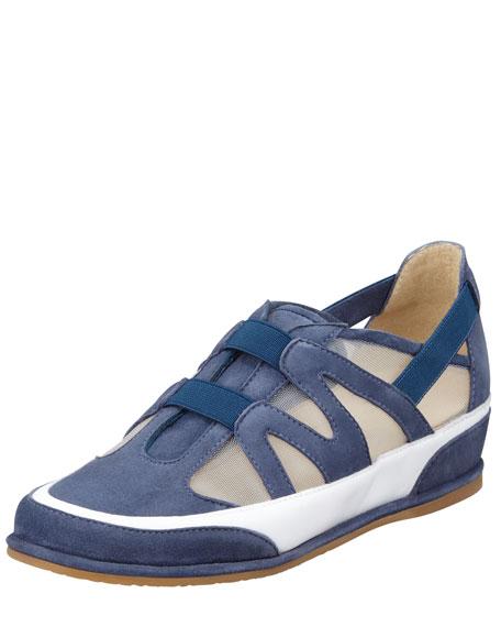 Chaser Mesh Slip-On Sneaker, Blue