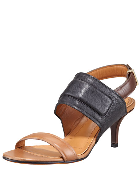 Banded Slingback Sandal