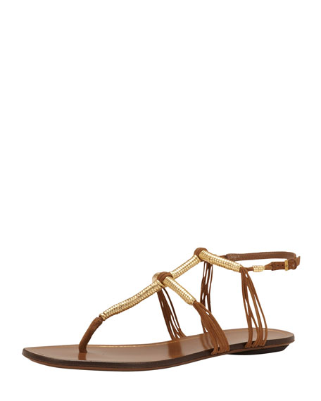 Flat Thong Sandal, Acero