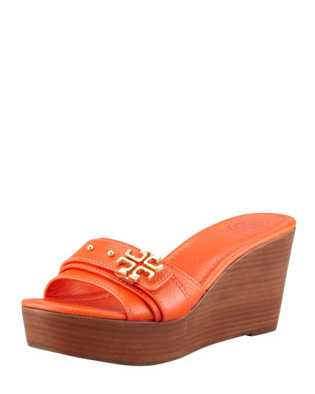 83b13f4c06853 Tory Burch Elina Mid-Wedge Slide Sandal