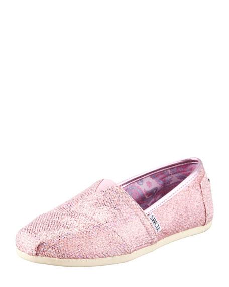 Glitter Slip-On, Pink