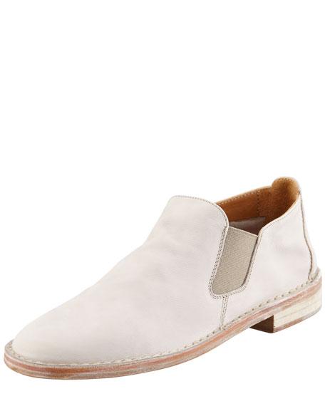 Mia Gored Nubuck Flat Boot