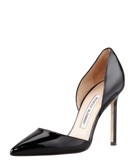 Tayler Patent Pointed d'Orsay, Black