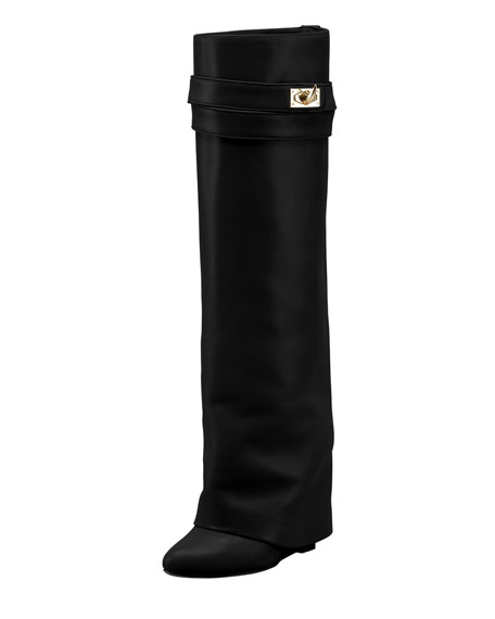 Shark Lock Fold-Over Boot