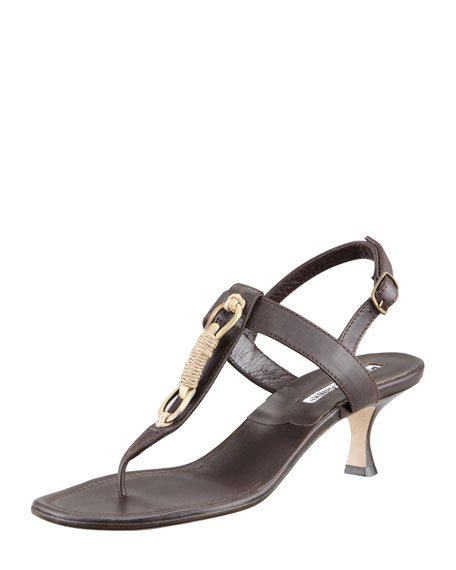 Maretrimod Thong Sandal, Brown