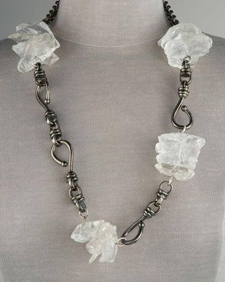 Quartz Link Necklace