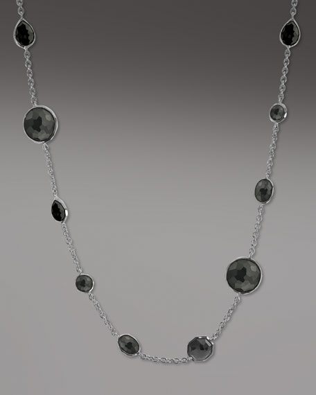 Wonderland Lollipop Necklace, Onyx