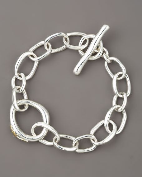 Scultura Fine Link Bracelet