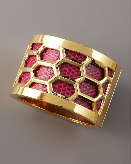 Honeycomb Cuff Bracelet