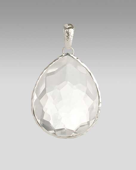 Giant Quartz Teardrop Enhancer