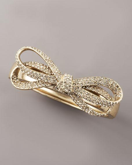 Pave Bow Bracelet