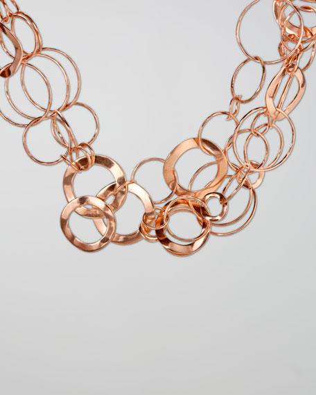 """Rose Multi-Link Necklace, 18""""L"""