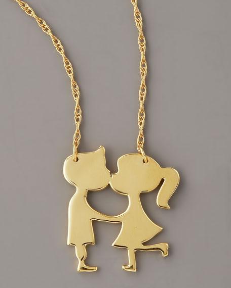 Kissing Pendant Necklace