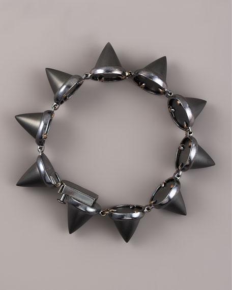 Agate Cone Bracelet
