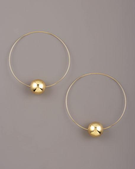Large Lumen Hoop Earrings