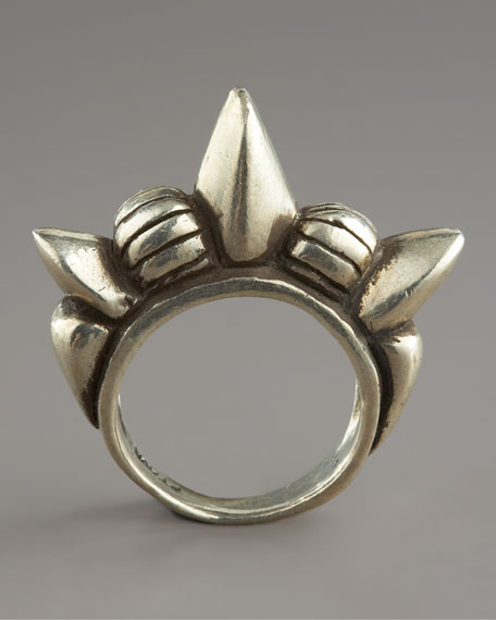 Tribal Spike Ring