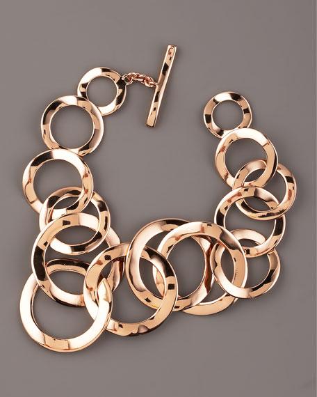 Rose Flat-Link Bracelet