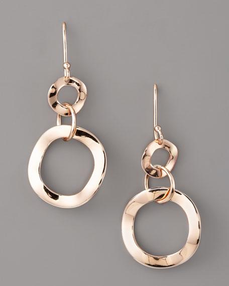 Rose Gold Link Earrings