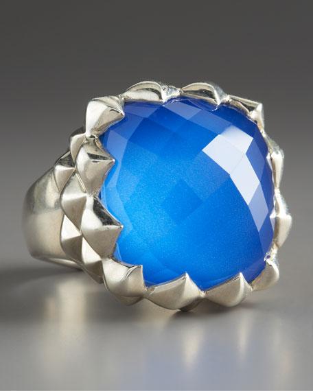 Superstud Agate Ring