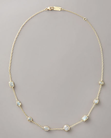 Labradorite Lollipop Necklace