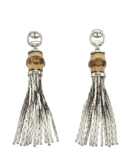 Tassel Bamboo Earrings