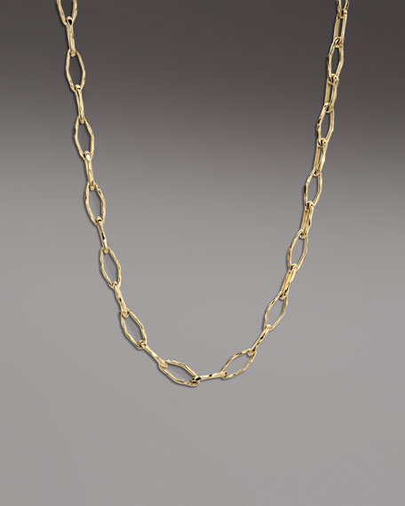 Gold Glamazon Link Necklace