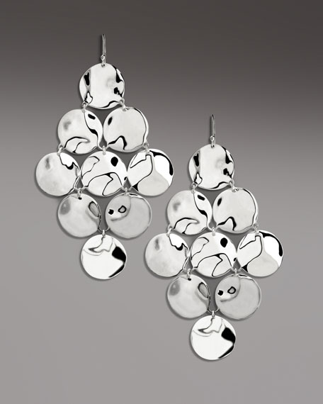 Sterling Silver Cascade Earrings